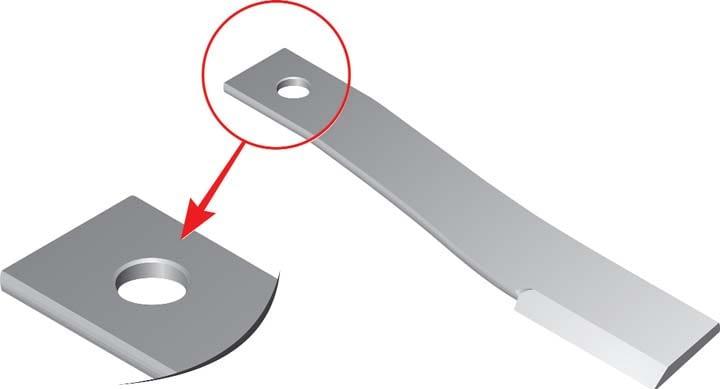 Schulte Parts - Blades 130111