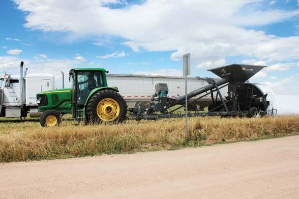 Loftness-GBU 10 with Truck Auger